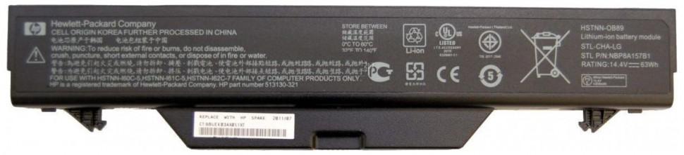 �������������� ������� 513129-361 ��� �������� HP/Compaq ProBook 4510s 4515s 4710s ����� 10.8 ����� 5200 mAh